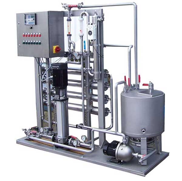 Установка для фармацевтических производств 1000 л/час