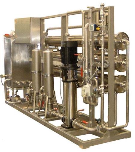 Образец установки 10 м куб/час