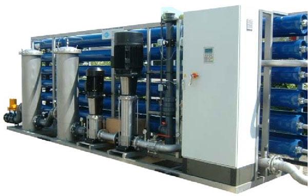 Установка ультрофильтрации 75 м куб/час