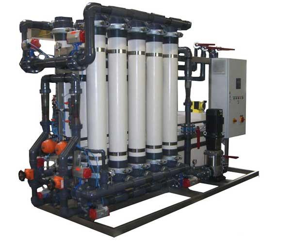 Установка ультрофильтрации 30 м куб/час